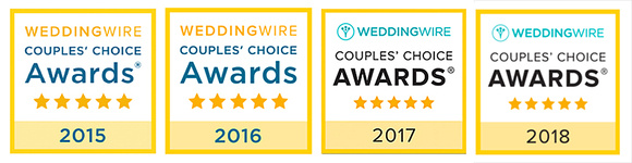 Wedding Wire Couple's Choice Award Winners